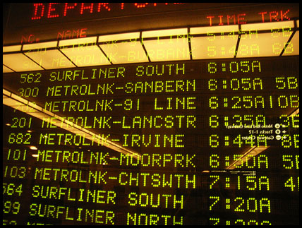 Photo: The Board at Union Station.