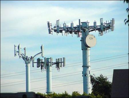 Photo: Wireless towers